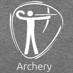 Archery_white - Women's Wideneck Sweatshirt