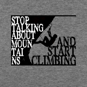 Start climbing - Women's Wideneck Sweatshirt