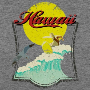 Vintage Hawaiian Surfer - Women's Wideneck Sweatshirt