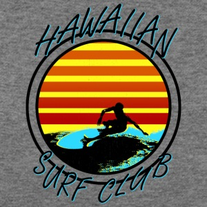 Hawaiian Surf Club - Women's Wideneck Sweatshirt