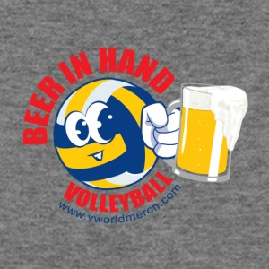 Beer in Hand Volleyball - Women's Wideneck Sweatshirt