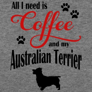 Australien Terrier Coffee - Women's Wideneck Sweatshirt