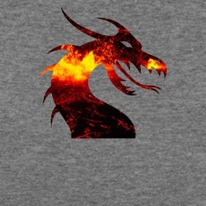 dragon on fire - Women's Wideneck Sweatshirt