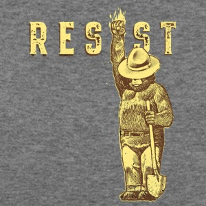 resist smokey - Women's Wideneck Sweatshirt