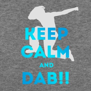 dab keep dabbing football touchdown mooving dance - Women's Wideneck Sweatshirt