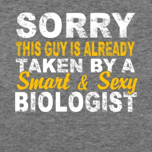 A Smart And Sexy Biologist T Shirt - Women's Wideneck Sweatshirt