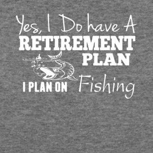Plan On Fishing Tee Shirt - Women's Wideneck Sweatshirt