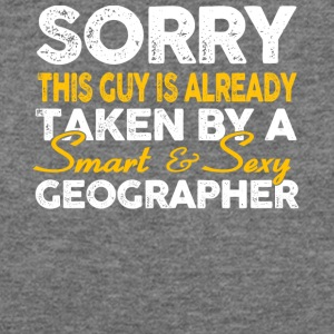 Smart And Sexy Geographer T Shirt - Women's Wideneck Sweatshirt