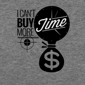 I Can't Buy More Time - Women's Wideneck Sweatshirt