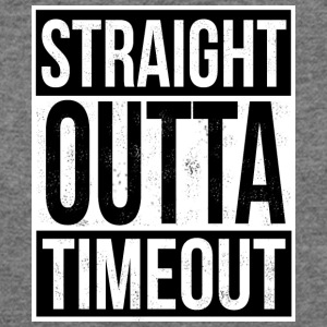 Straight Outta Timeout - Women's Wideneck Sweatshirt