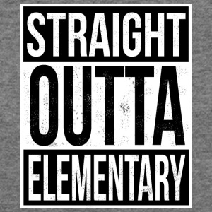 Straight Outta Elementary - Women's Wideneck Sweatshirt