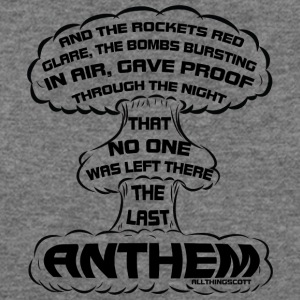 20170322 the last anthem 001 - Women's Wideneck Sweatshirt