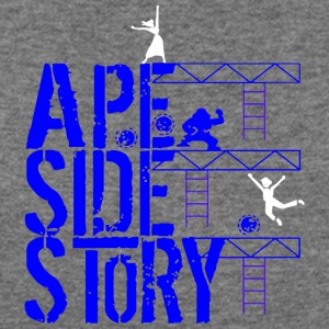 Ape Side Story - Women's Wideneck Sweatshirt