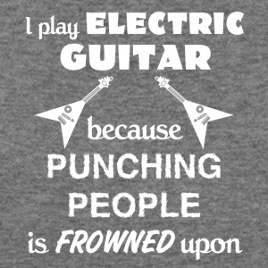 Electric Guitar Love Gift- cool shirt,geek hoodie - Women's Wideneck Sweatshirt