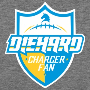 DIEHARD CHARGER FAN - Women's Wideneck Sweatshirt