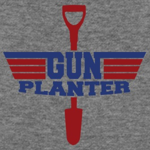 Gun Planter - Women's Wideneck Sweatshirt
