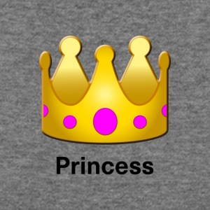 Princess Crown Design - Women's Wideneck Sweatshirt