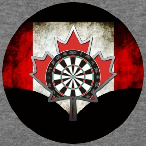 Canadian Darts Shirt Design - Women's Wideneck Sweatshirt