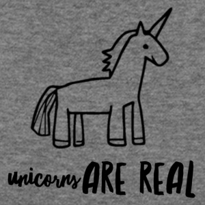 Unicorns Are Real - Women's Wideneck Sweatshirt