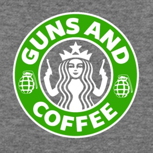 Guns and Coffee - Women's Wideneck Sweatshirt