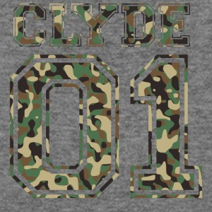 Clyde_01_camo_2 - Women's Wideneck Sweatshirt