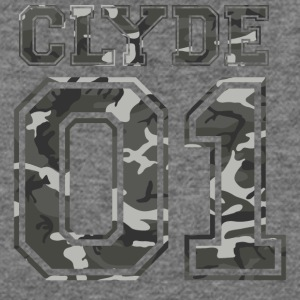 Clyde_01_camo_1 - Women's Wideneck Sweatshirt