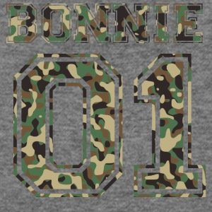 Bonnie_01_camo_2 - Women's Wideneck Sweatshirt