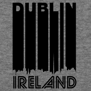 Retro Dublin Skyline - Women's Wideneck Sweatshirt