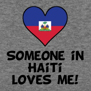 Someone In Haiti Loves Me - Women's Wideneck Sweatshirt