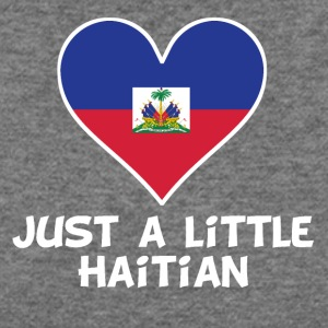 Just A Little Haitian - Women's Wideneck Sweatshirt