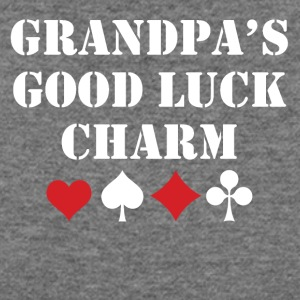 Grandpa's Good Luck Charm - Women's Wideneck Sweatshirt