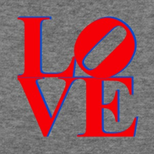 Love Park Philadelphia Sign - Women's Wideneck Sweatshirt