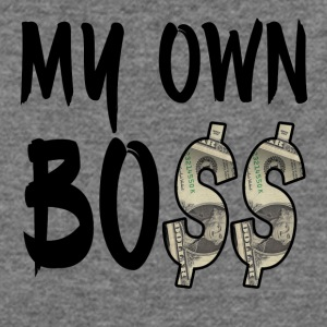 My Own Bo$$ - Women's Wideneck Sweatshirt