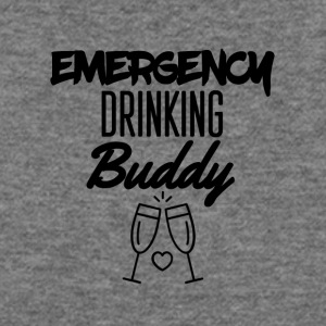 Emergency drinking buddy - Women's Wideneck Sweatshirt