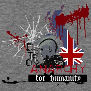 ANARCHY FOR HUMANITY - Women's Wideneck Sweatshirt