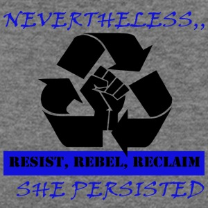 Reclaim RESIST - Women's Wideneck Sweatshirt