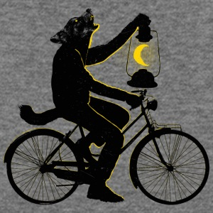 Ride With The Moon T Shirt - Women's Wideneck Sweatshirt