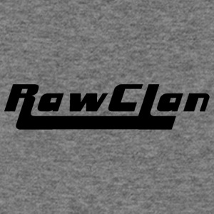 Raw Clan-Black - Women's Wideneck Sweatshirt