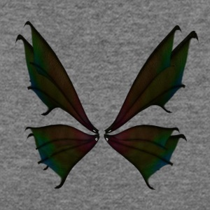 insect butterfly fairy wings - Women's Wideneck Sweatshirt