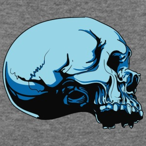 skull_from_side - Women's Wideneck Sweatshirt