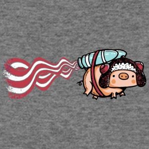 Powered by Bacon - Women's Wideneck Sweatshirt