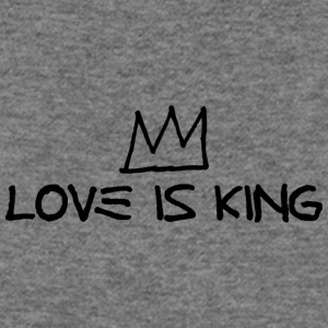 Crown - Love Is King - Women's Wideneck Sweatshirt