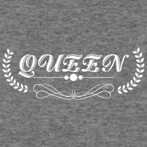 Queen white - Women's Wideneck Sweatshirt