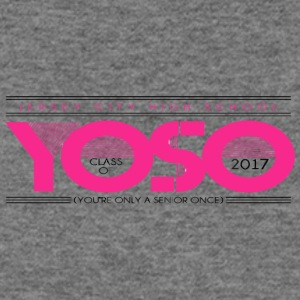 JERSEY CITY HIGH SCHOOL YOSO CLASS OF 2017 YOU RE - Women's Wideneck Sweatshirt