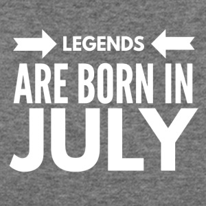 Legends Born July - Women's Wideneck Sweatshirt
