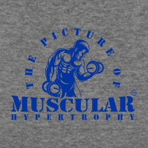THE PICTURE OF MUSCULAR HYPERTROPHY - Women's Wideneck Sweatshirt