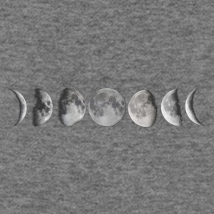 Moon phases - Women's Wideneck Sweatshirt
