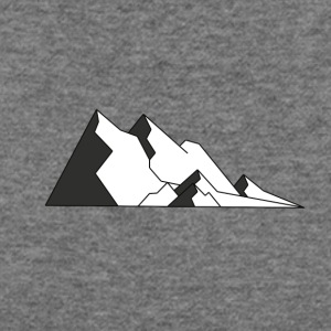Mountains - Women's Wideneck Sweatshirt