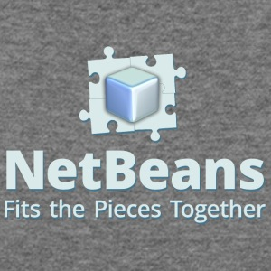 NetBeans with Logo and Slogan - Women's Wideneck Sweatshirt