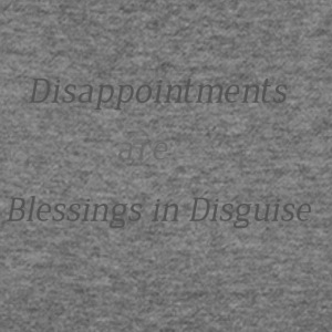 Disappointments are blessings in disguise - Women's Wideneck Sweatshirt